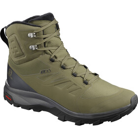 Salomon Outblast TS CSWP Kengät Miehet, burnt olive/phantom/black